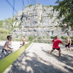 Terrain beach volley village vacances