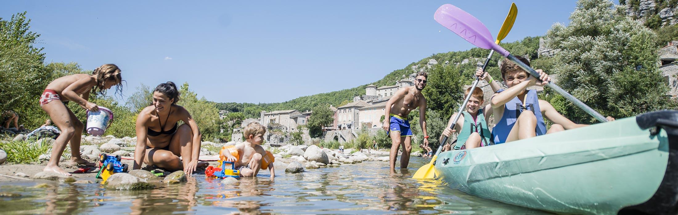 Village vacances famille Ardèche